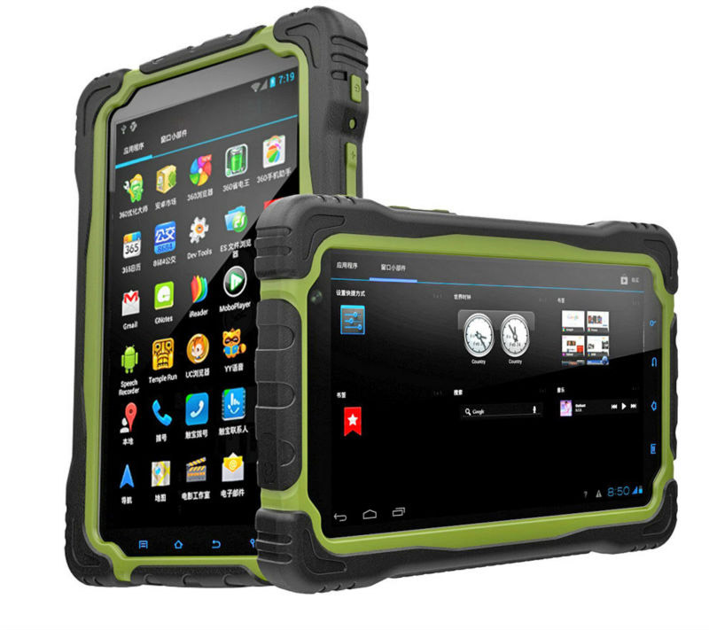 Quadcore Waterproof Rugged Tablet PC Pass CE&ROHs Cetification