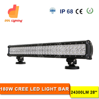 off road led 28 inch 180W cheap led light bars, 12V flood spot off road led light bar, offroad led light bar for ATV 4x4 truck