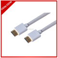 ultra long ABS alloy hdmi cable white colors