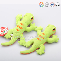 Brand game company custom made quality plush gecko toys