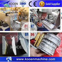 Hot Stamping PS Foamed Picture Frame Moulding Making Machine