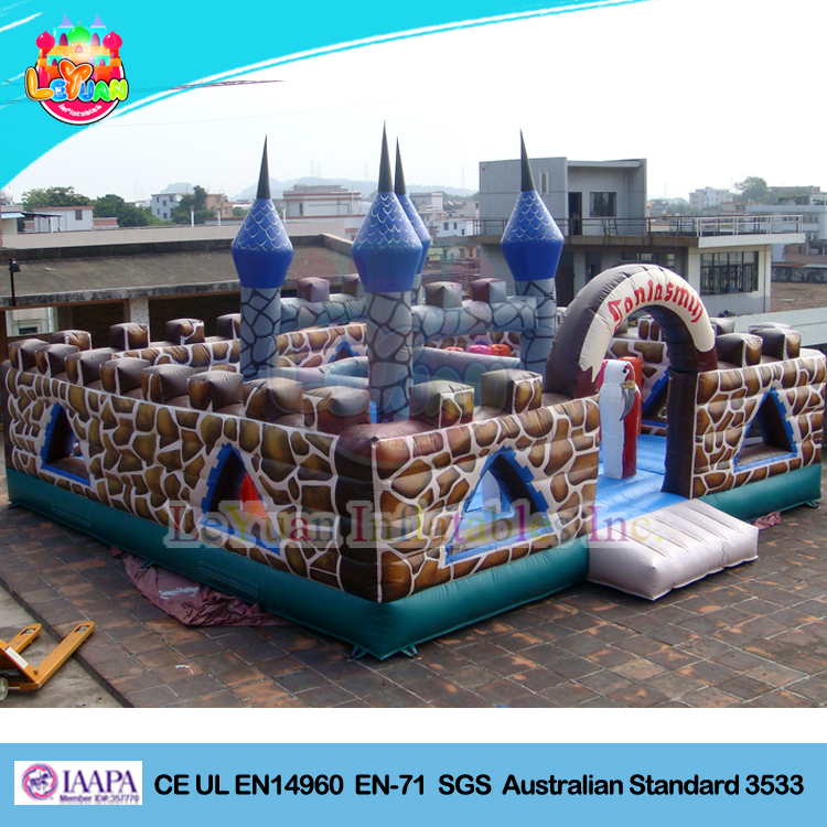 PVC material cheap giant kids fun city adult bounce house inflatable bouncy castle