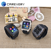 Cheap gps 3g wifi mobile phone, dual core android watch phone sim card slot