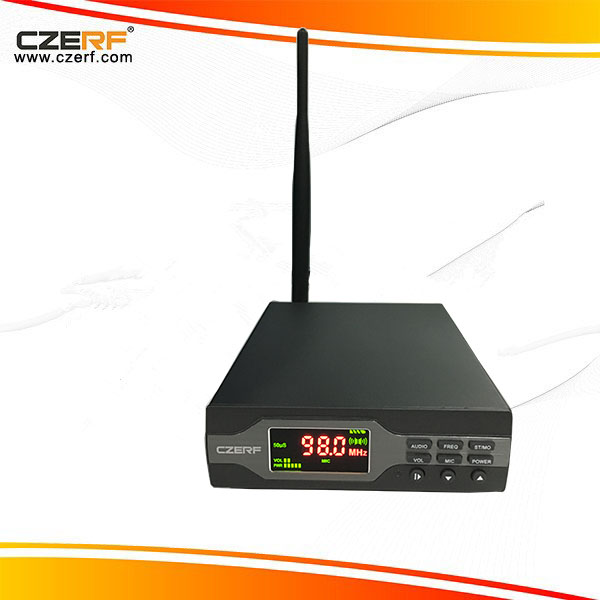 CZE-01B 1w High Quality Fm Transmitter with Bluetooth+TF card +MP3+battery