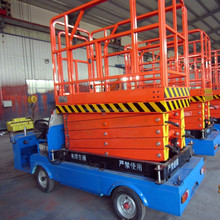 Hydraulic electric lift table/ truck mounted scissor lift table for maintenance