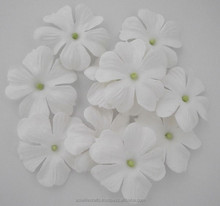 White Jewels of Spring paper flower 6 pcs / 20 pcs / 50 pcs