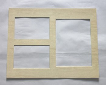 hot sale nice white porous plastic photo frame