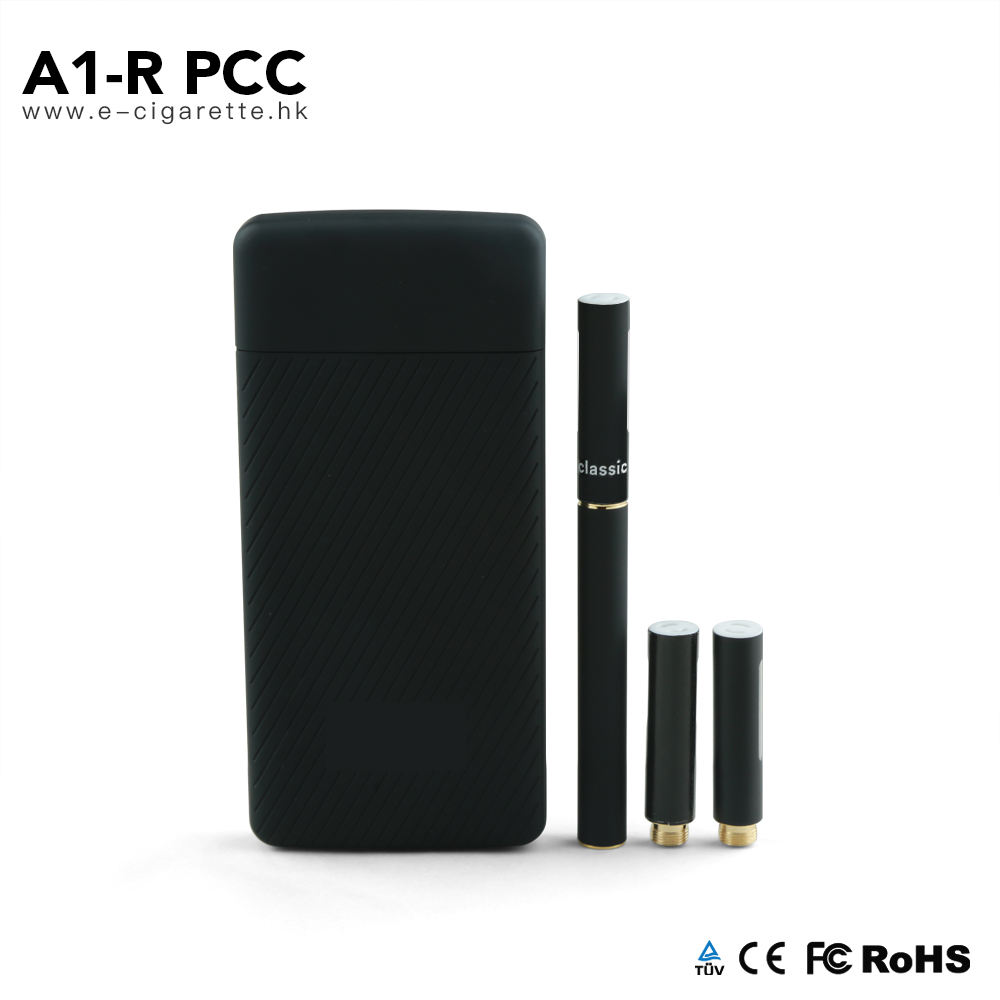 Popular vape device A1-R PCC portable wireless fast charging case refillable ecigs kit