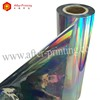 Metalized Colorful Rainbow Adhesive Thermal Holographic Laminating Film