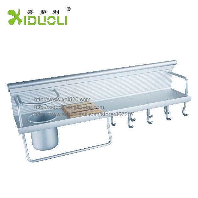 Kitchen accessories ALuminum Wall Mount Kitchen <strong>Shelves</strong>