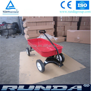 PP material and steel material garden cart