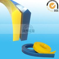 Yangtai Factory supply screen printing v squeegee blue, prting materials