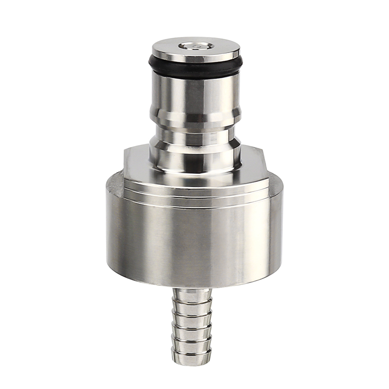 Stainless Carbonator Cap,  Liquid Ball Lock or Gas  for Homebrew PET Soft Drink Bottle