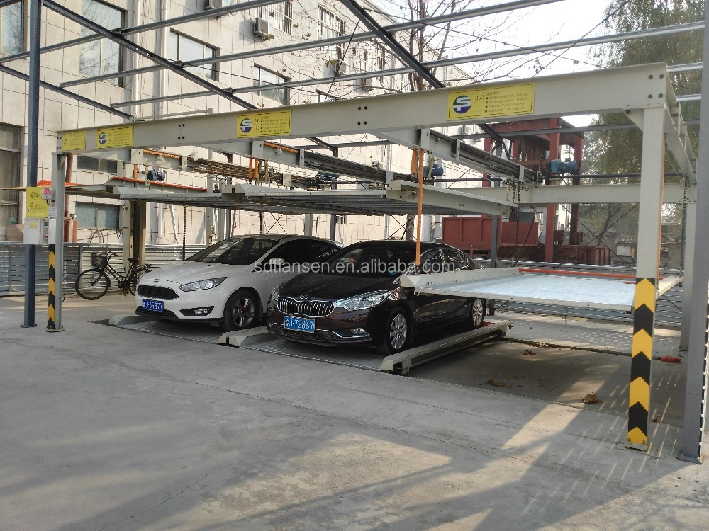 PSH double-layer lift-sliding mechanical car parking system/parking solution