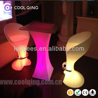 Coolqing Bar/club/party/wedding/KTV/hotel illuminated table top salad bar