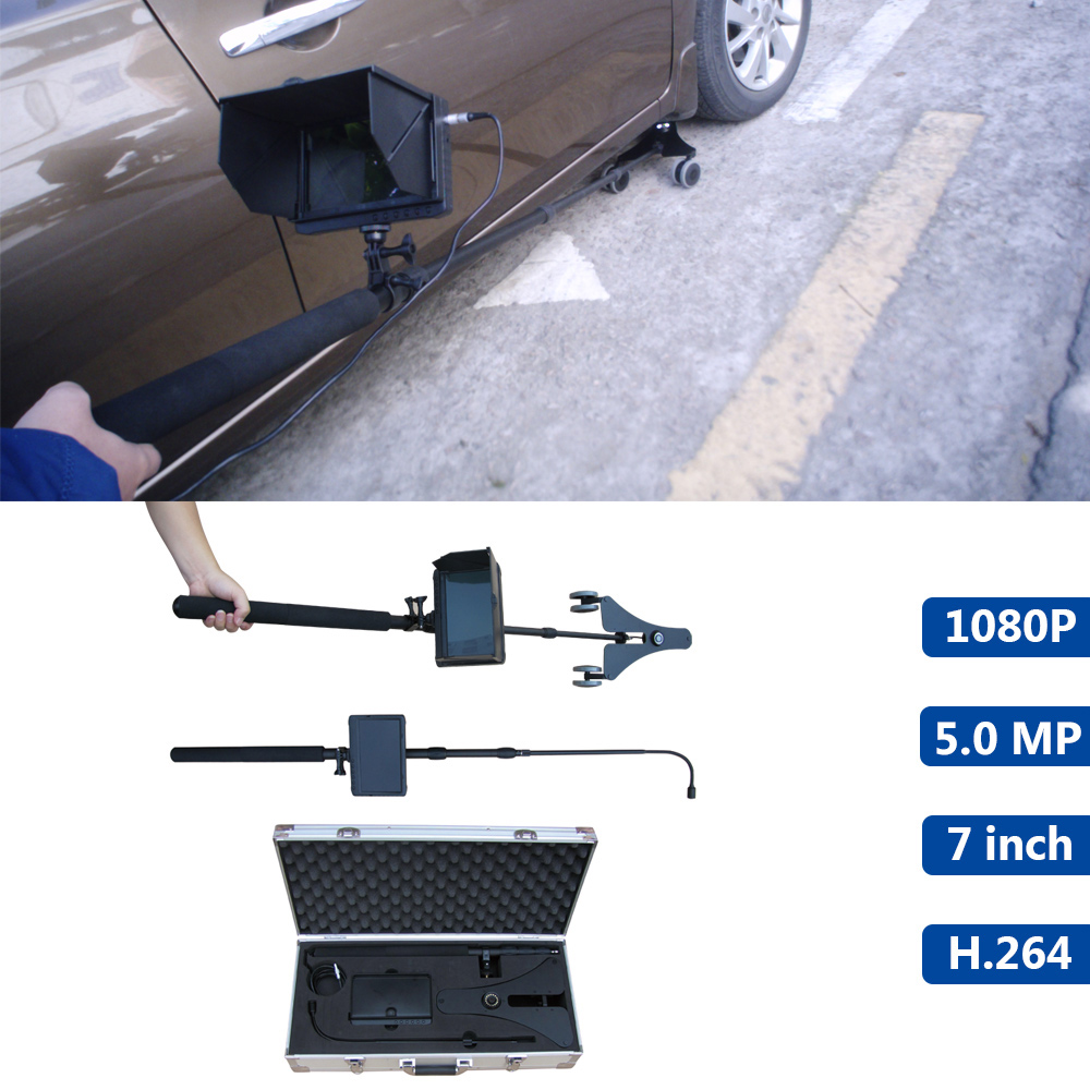 1080P Double Full HD Digital Camera Unfixed Under Vehicle Inspection/Surveillance DVR Camera System(UVIS/UVSS)