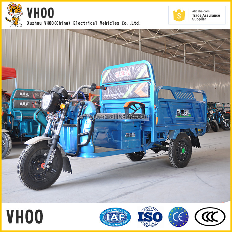 road tricycle for cargo/cargo tricycle electric driving type/moped for cargo