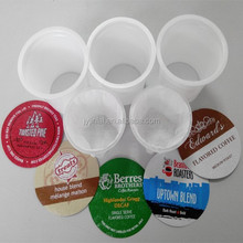 51.7mm K-cup, Non-woven filter, Aluminum foil lid for K-cup