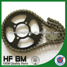 Sprocket Chain Kits Motorcycle CD70 41T/14T 420/104L Sprocket, Top Quality Pinions Motorcycle CD70 1045 Steel Sprocket