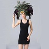 Alibaba Horng Shya Excellent Quality Hot Sale Feather Headdress