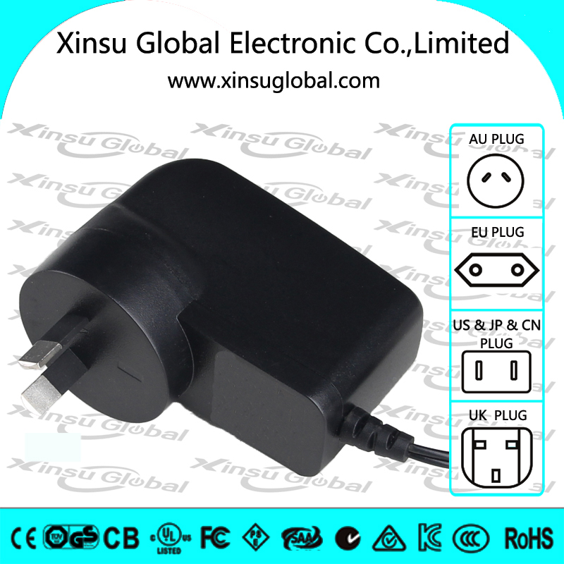 AU standard wall mount power supply 13v 500ma ac/dc power adapter