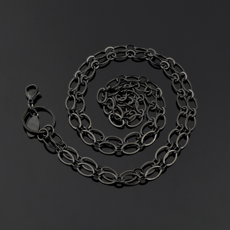 4.0mm Fashion Coin Locket Necklace Chain New Gold Chain Design Girls