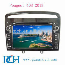 "7"" in car dvd player peugeot 407/408 2013 WS-9238"