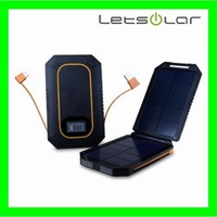 6000mAh solar charger for mobile phone universal solar power bank