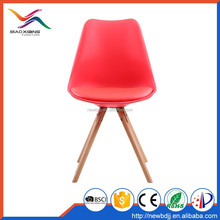 New Design Fashion Modern Colorful Dining Chair Plastic Factory Manufacturer