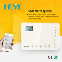 Screen Touch kedpad Wireless GSM Alarm System 850/900/1800/1900MHz smart home / office security alarm Outdoor