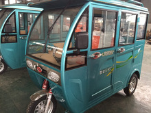 three wheel covered motorcycle/used 150cc tricycle for passenger