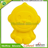Silicone Mouse and Duck animal shape cake mold