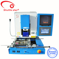 Competitived Shuttle Star bga welding equipment with ccd camera system and laser position