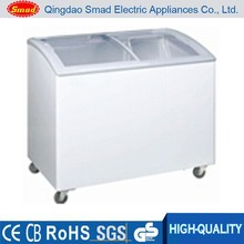 XS-368Y ice cream deep sliding glass door chest freezer