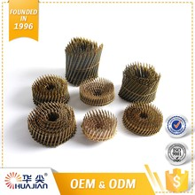 Quick Lead Dome Head Nails Wire Collated Coil Nail Gun