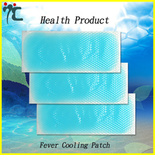 4 Sheets Fever Cool Cooling Relief Soft Patches Pads Plaster Cold Headache
