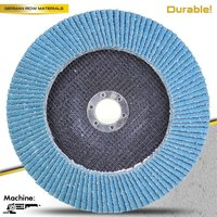 T29 4.5'' Abrasive Flap Discs with flexible cloth /Deerfos KA537