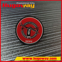 Metal Crafts Newly developed Offset Printing gift pin button badges