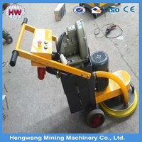 Chinese concrete floor grinder with vacuum cleaner for sale