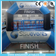 Finish and start inflatable racing arch