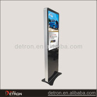 New design vertical lcd panel stand advertising display
