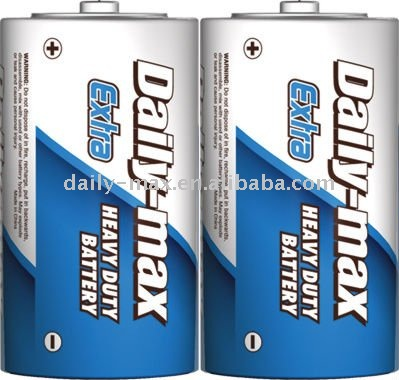 R20P SUM-1/D Size carbon zinc heavy duty Battery