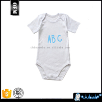 China suppliers blue pattern baby cotton baby romper