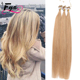 Real Indian Human Loop Micro Ring Hair Extensions 1g 0.8g 0.5g Micro Bead Hair Extensions 18 20 22 inch Brown Blonde