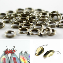 Fishing Tackle Accessories Double Loop Quick change Round O rig Round Edge Blank Lures Crankbait Hard Bait Split Ring