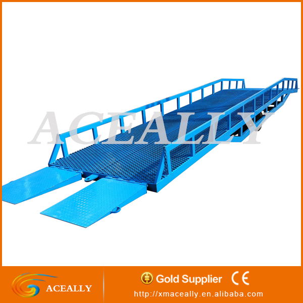 warehouse truck loading manual mechanical hydraulic power ramp dock leveler