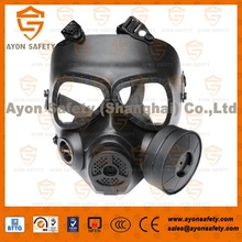 High Density Plastic Breathing Mask, color Tactical Gas Mask-Ayonsafety