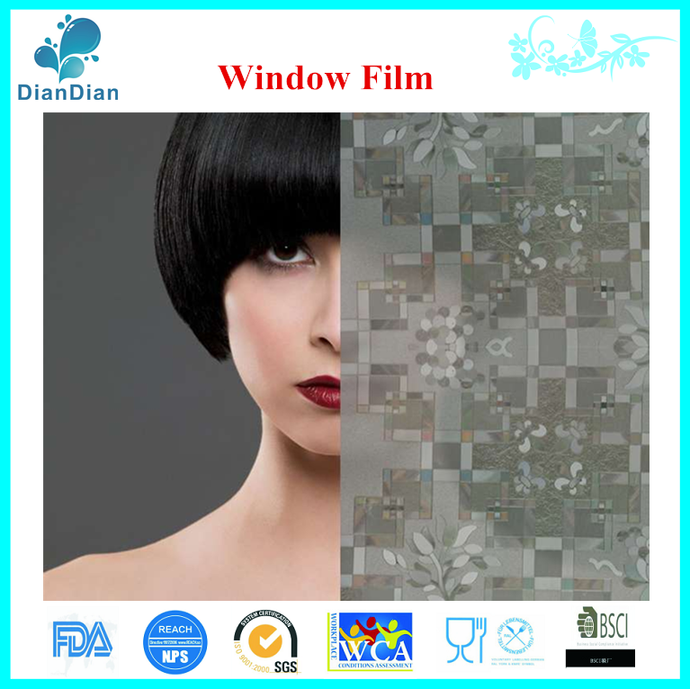 Eco electrostatic security glass window film