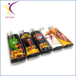 Hot selling customized paper plastic lighter
