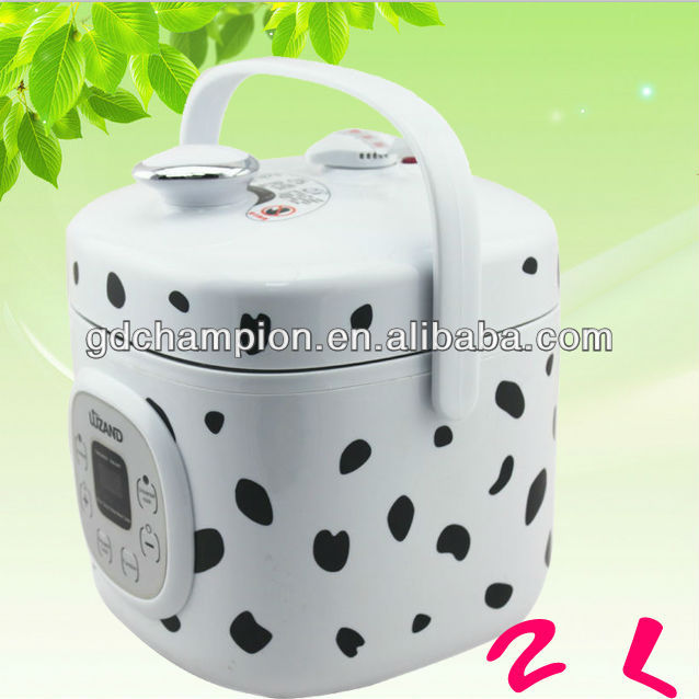 2L multipurpose electric mini pressure cooker